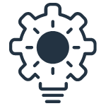 Lightbulb icon to demonstrate proactive monitoring
