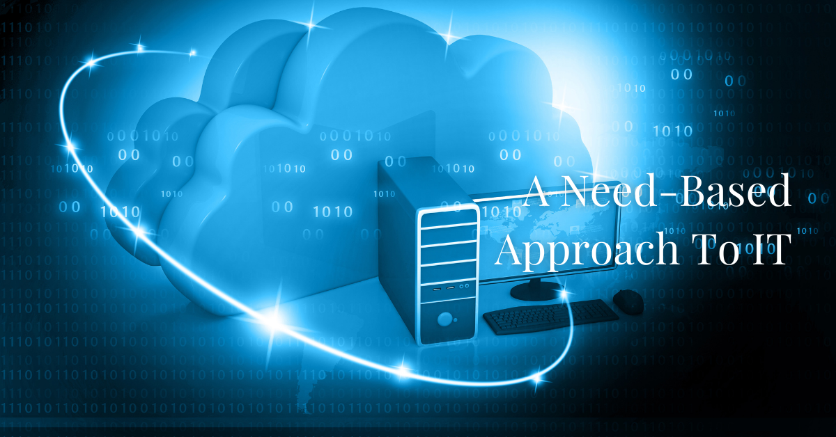 A needs-based approach to IT Requirements